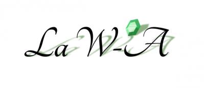 Logo de la wa noir avec fond blanc
