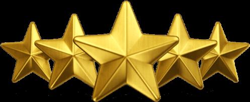 Seekpng com five stars png 931197